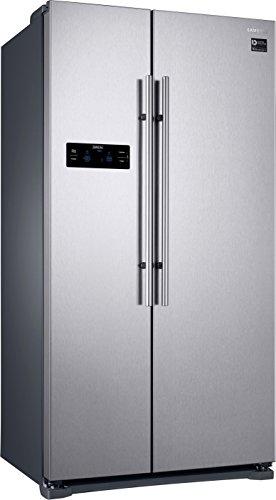 Samsung RS57K4000SA Réfrigérateur américain autonome double porte et écran LED tactile Argenté
