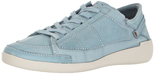 FLY London Women's Teti240fly Fashion Sneaker, Pastel Blue Dyed Leather, 40 EU/9-9.5 M US