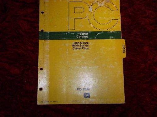 John Deere 1600 Series Chisel Plow PC-1264 OEM Parts Manual ()