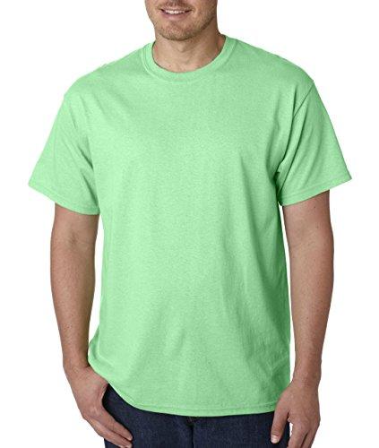 Gildan - Heavy Cotton T-Shirt - 5000 - Mint Green - Large ()