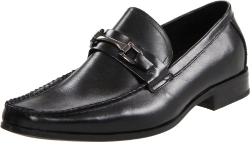 Stacy Adams Men's Lewis Moccasin,Black,11.5 M US