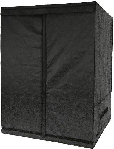 41tAe0qIR5L Aviditi PTU-71 Mylar Reflective Hydroponic Grow Tent, 59-Inch Wide by 59-Inch Deep by 78-Inch High
