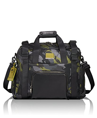 Tumi Men's Alpha Bravo Buckley Duffel Bag, Green Camo, One Size by Tumi