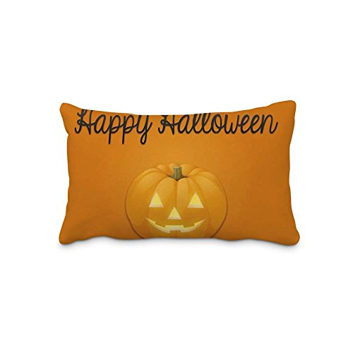 Home Decorative Festival Halloween Pillow Cover Cotton and Polyester Pillow Cases Standard Pillow Protector 20