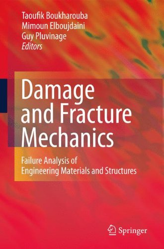 Download Damage and Fracture Mechanics: Failure Analysis of Engineering Materials and Structures PDF