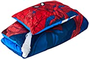 Marvel Spiderman Slumber Bag with Pillow Red ,2 items