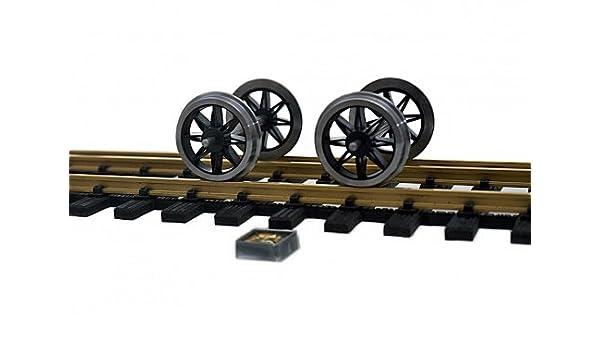 2 conjuntos de rueda radios de acero inoxidable 42 mm acoplamiento 2 (64 mm) para normalmente acoplamiento: Amazon.es: Juguetes y juegos