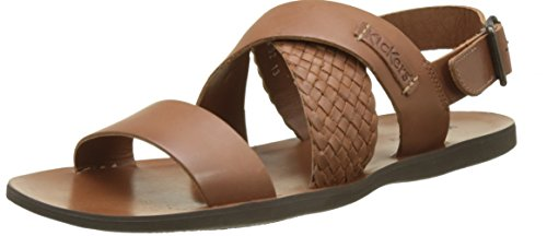 Kickers 471181-60-114, Sandalias Hombre Marrón (Camel) Zapatos de moda en línea Obtenga el mejor descuento de venta caliente-Descuento más grande