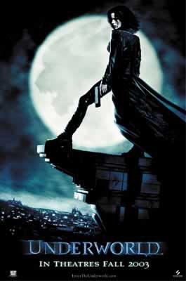 Underworld - Movie Poster (Size: 27 inches x 40
