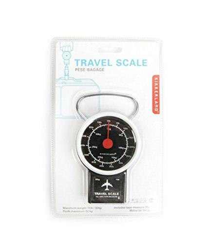 9fb897e58046 Kikkerland Travel Luggage Scale