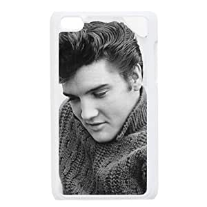 Custom Elvis Presley Hard Back Cover Case for iPod Touch 4th IPT703