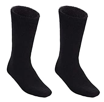 7 Pairs Awesome Bamboo Socks Thick Cushion Heavy Duty Mens Hiking Work Sock (11-14 (L-XL))