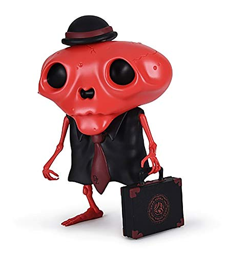(Red Karoshi (Model Employee Edition Designer Vinyl Figure by Andrew Bell)