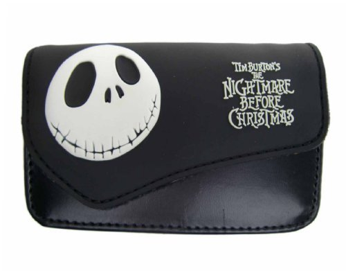 Disney Nightmare Before Christmas Cell Phone Case - Jack Cellphone Pouch Black