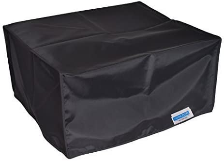 Black Nylon Anti-Static Dust Cover Dimensions 16.1W x 15.7D x 12.5H by Comp Bind Technology Comp Bind Technology Dust Cover for Brother MFC-L2717DW Wireless Monochrome Laser Printer