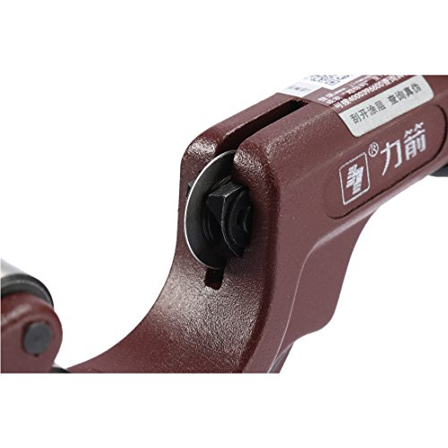 uxcell Tube Cutter, 1/8-inch to 1-1/4-inch Capacity, Copper Aluminum Plumbing Cutting by uxcell (Image #4)