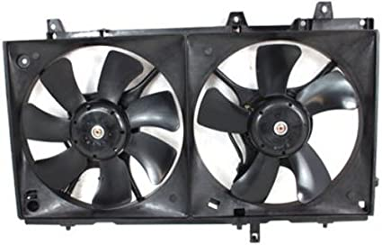 Cooling Fan Assembly New For Subaru Forester 2003-2008 Turbo Model
