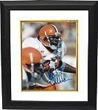 Athlon CTBL-BW4274 Keith Bulluck Signed Syracuse Orange 8 x 10 Photo Custom Framed