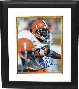 Athlon CTBL-BW4274 Keith Bulluck Signed Syracuse Orange 8 x 10 Photo Custom Framed by Athlon