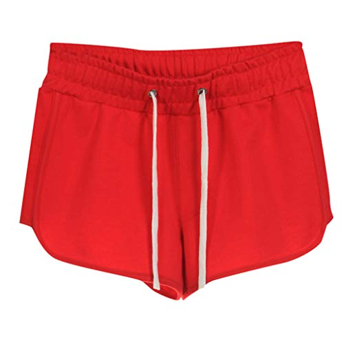 Home Shorts Women's Summer Cotton Sports Casual Embroidered Shorts ()