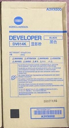 Konica Minolta A3VX600 DEVELOPER, BLACK, 1,200K (1200 Photoconductor)