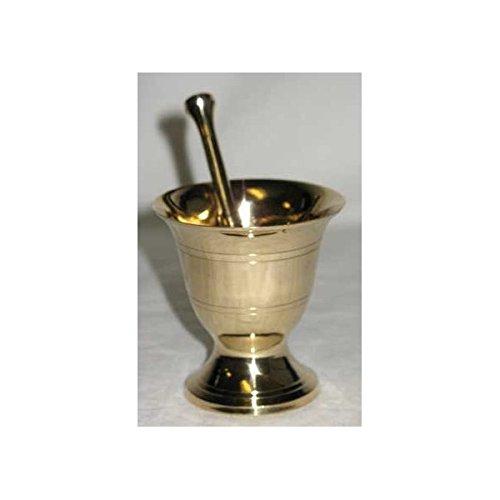 AzureGreen LMBS Mortar-pestle Brass Small