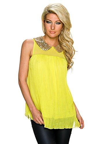 She´s Secret - Camisas - para mujer amarillo