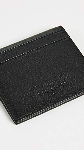 Ted Baker Folded Black Ted Card Case Baker Men's Roasty vH1cq