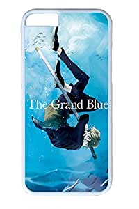 Anime Boy Seabed Cute Hard Cover For iPhone 6 Case (4.7 inch) PC White Cases