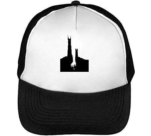 Of The Ring Poster Stencil Gorras Hombre Snapback Beisbol Negro Blanco