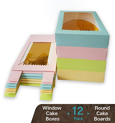 (CooKeezz Couture - Window Cake Boxes 10