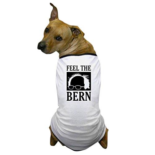 (CafePress - Feel The Bern [Hair] - Dog T-Shirt, Pet Clothing, Funny Dog Costume)