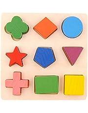Puzzle Wood - geometric shapes