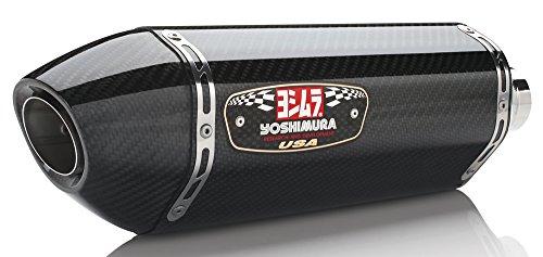 R77 Carbon Yoshimura (Yoshimura R77 Slip-On - Carbon Fiber Muffler)