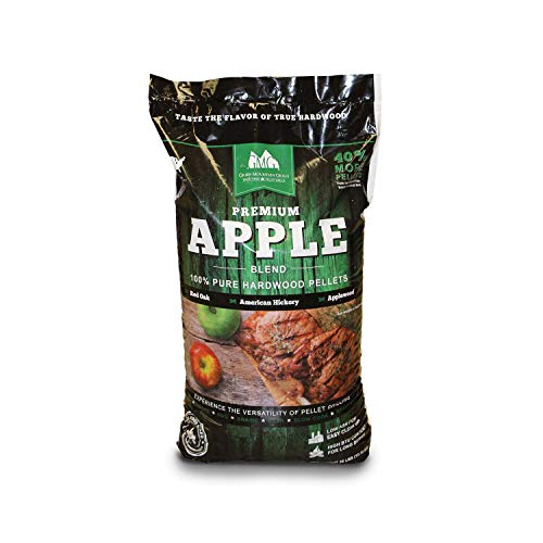 Mountain Apple (Green Mountain Grills Premium Apple Grilling Pellets)