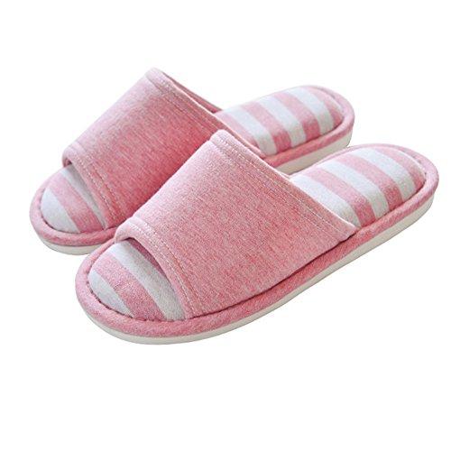 Zapatos primavera tamaño otoño de Par de colores suelo piso 06 lino casa Verano antideslizantes de y zapatillas opcionales de casa tamañ de mujeres de Zapatillas Color y Sandalias Zapatillas de casa w1pOXz4