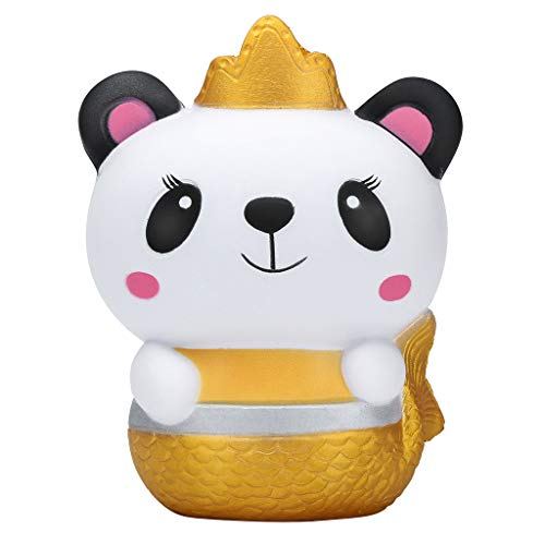 OrchidAmor New Squishies Galaxy Panda Fruit Scented Slow Rising Squeeze Stress Relief ()