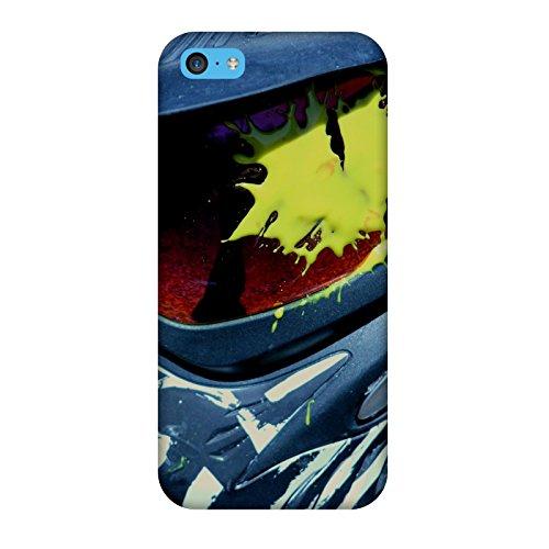 Coque Iphone 5c - Masque Paintball