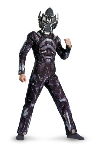 Transformers Movie - Ironhide Muscle Child Costume Size 10-12 -