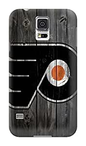 DIY Outstanding NHL Philadelphia Flyers Protective Hard Case for Samsung Galaxy S5