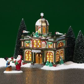 Dept 56 - North Pole Village - Town Hall by Department 56 - 56767 (Town Hall 8 Halloween)