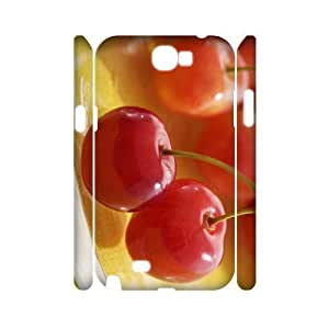 case Of Cherry Customized Hard Case For Samsung Galaxy Note 2 N7100