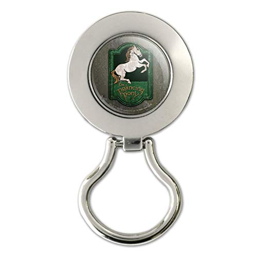 Lord of The Rings The Prancing Pony Magnetic Metal Eyeglass ID Badge Holder