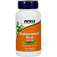 NOW Goldenseal Root 500 mg,100 Capsules