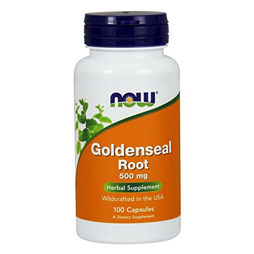 NOW Goldenseal Root 500 Capsules