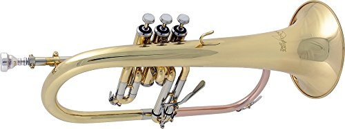 Bach FH600 Aristocrat Series Bb Flugelhorn FH600 Lacquer by Bach