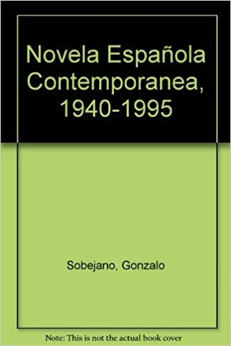 Novela española contemporanea 1940 - 1995: Amazon.es: Sobejano, Gonzalo: Libros