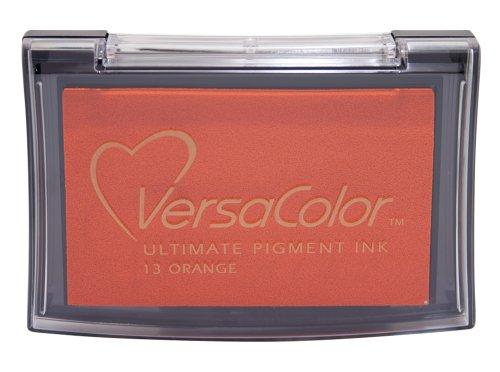 Tsukineko Full-Size VersaColor Ultimate Pigment Inkpad, Orange