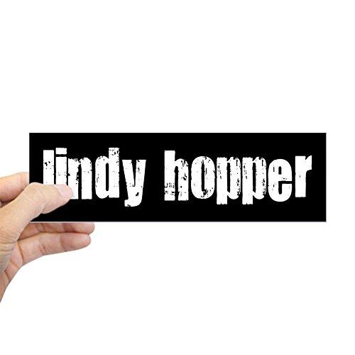 (CafePress - Lindy Hopper Bumper Sticker - 10