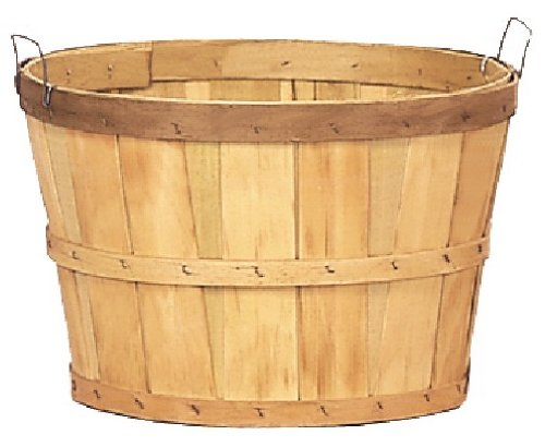 - One Dozen Natural One Bushel Baskets 18